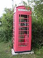 Red telephone box at Minstead, New Forest - geograph.org.uk - 54981.jpg