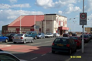 "Larry Grayson - The Regent Cinema,Redcar, Where Larry coined his catchphrase,""Shut that Door!"""