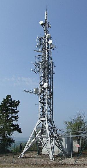 Ancey - Ancey relay antenna