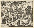 Renard Exonerates Himself of His Crimes Before the Lion from Hendrick van Alcmar's Renard The Fox MET DP837674.jpg