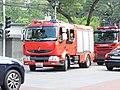 Renault fire engine in Xizhimen, Beijing.jpg