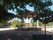 Thabor park's bandstand.