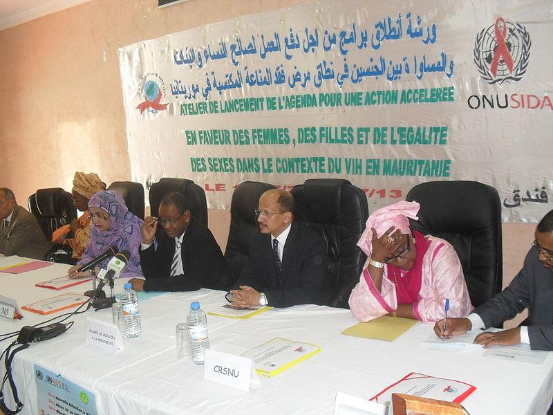 File:Reprise du financement de la lutte contre le SIDA en Mauritanie (6029237464).jpg