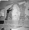Restauratie Engelse kerk aan Begijnhof. Opdracht Trouw, Bestanddeelnr 913-1044.jpg