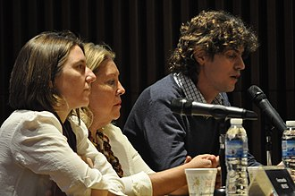 Broad Front UNEN - Elisa Carrió, Fernanda Reyes and Martin Lousteau, UNEN´s leaders from Civic Coalition ARI