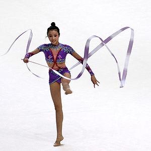 Ribbon (rhythmic gymnastics) - Image: Ribbon (rhythmic gymnastics)