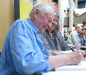 Richard Williams (animator) - Williams at the 2015 Annecy International Animated Film Festival