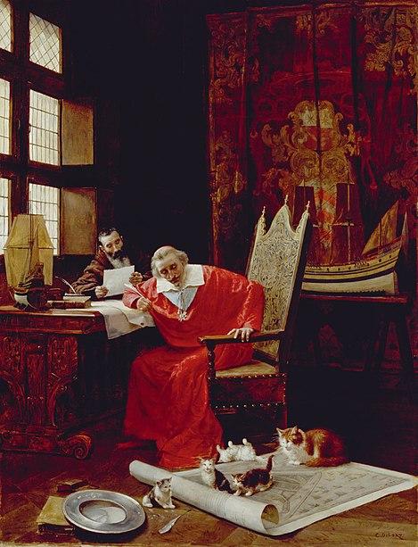 File:Richelieu et ses chats.jpeg