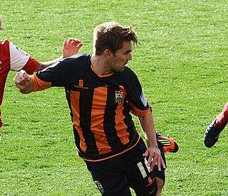 Ricky Holmes English footballer
