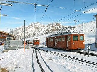 Riffelberg railway station - Image: Riffelberg station(1)