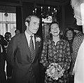 Rijkste man van Denemarken, Gorm Reventlow Girling trouwt in Den Haag met Elisab, Bestanddeelnr 926-6827.jpg