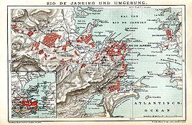 Cidade do Rio de Janeiro em 1895