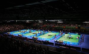 Riocentro table tennis venue 2016 Summer Olympics 06.08.2016.jpg