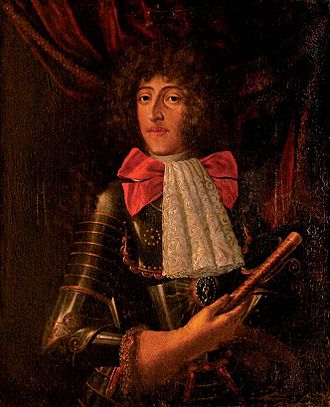 Ferdinando Carlo Gonzaga, Duke of Mantua and Montferrat - The Duke of Mantua, attributed to Jacob Denys (1706)