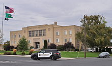 Ritzville, WA - Adams County Courthouse 02.jpg