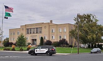 Adams County, Washington - Image: Ritzville, WA Adams County Courthouse 02