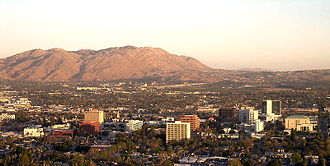 Riverside County, California - Image: Riverside 06Skyline