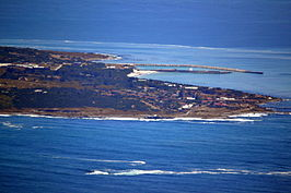 Robbeneiland vanaf de Tafelberg