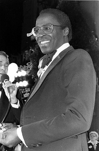 Robert Guillaume - Guillaume at the premiere of Seems Like Old Times in 1980