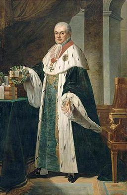 Robert Lefèvre - Louis de Fontanes (1757-1821), comte de l'Empire