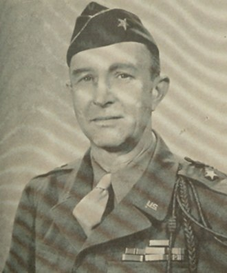 Robert Nicholas Young - BG Young as assistant division commander, 3rd Infantry Division, World War II