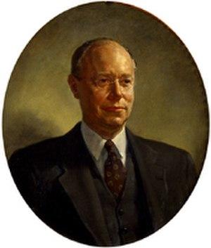 Deane Keller - Robert A. Taft, American Senator, painted by Deane Keller