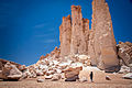 Rock formation in the Atacama Desert.jpg