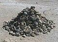 Rock pile, Robben Island Prison.jpg