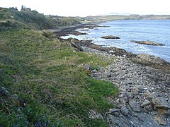 Rocky foreshore east of Kilmore on the Sleat Peninsula - geograph.org.uk - 432710.jpg