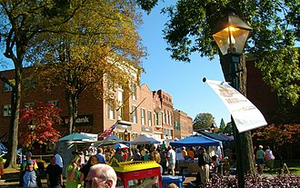 Rogersville, Tennessee - Downtown Rogersville during Heritage Days