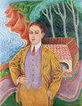 Rolf De Maré porträtterad av Nils Dardel, 1910-tal - Hallwylska museet - 98764.tif