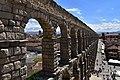 Roman aqueduct, Segovia, 1st century CE (12) (29364046012).jpg