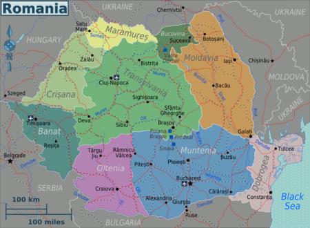 Romania Regions map.png