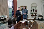 Ronald Reagan meeting with David Gergen.jpg