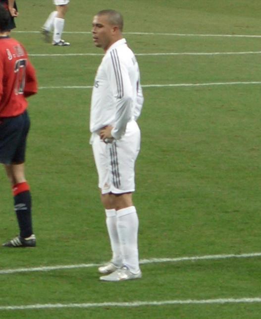 Ronaldo em campo