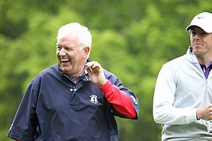 Rory McIlroy - Rory and father Gerry McIlroy in May 2013