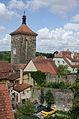 Rothenburg ob der Tauber, Siebersturm, Stadtmauer Röderschütt 4-001.jpg