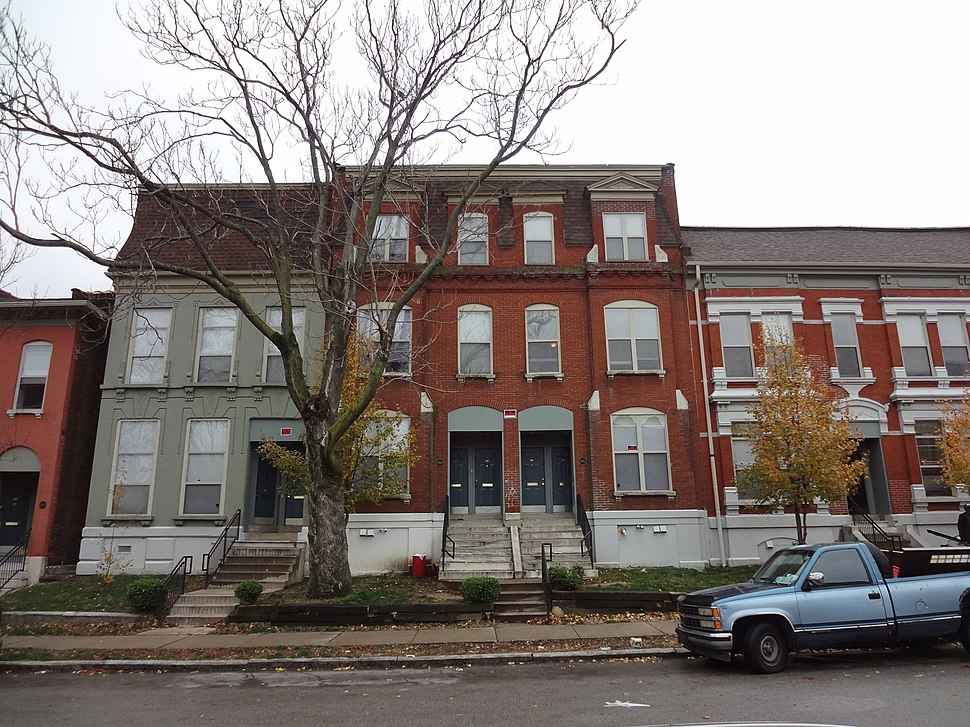 Row Houses on James Cool Papa Bell Ave