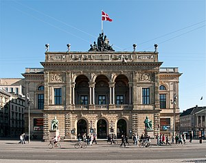 Royal Danish Ballet - The Royal Danish Theatre in Copenhagen, principal venue of the Royal Danish Ballet