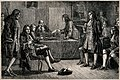 Royal Society, Crane Court, off Fleet Street, London; a meet Wellcome V0013122.jpg