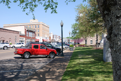 Downtown West Point from Broad Street