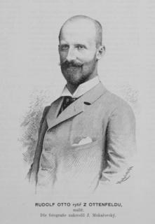Rudolf Otto von Ottenfeld Austrian painter