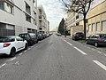 Rue Bataille (Lyon) - vue de la rue (partie ouest) - 2.jpg