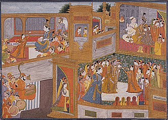 Rukmini - The marriage of Krishna and Rukmini