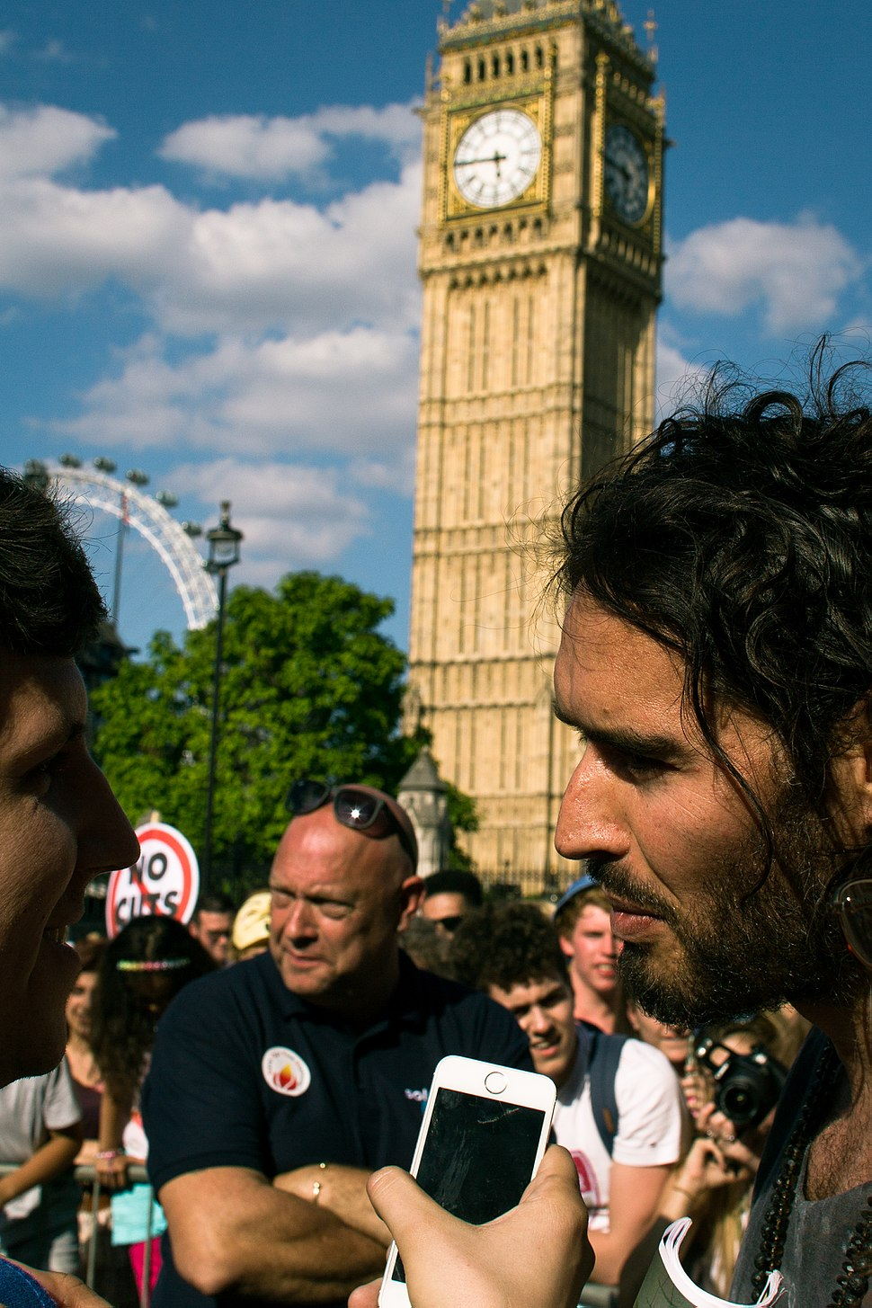 Russell Brand Fire Brigades Union interview 2