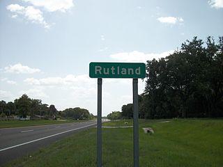 Rutland, Florida Unincorporated community in Florida, United States