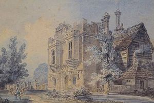 Rye House Plot - Rye House, Hertfordshire in a 1793 watercolour by J. M. W. Turner