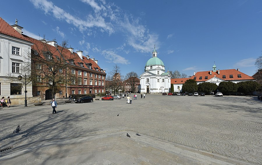 New Town Market Place, Warsaw