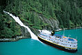 S.S. Legacy at Alaskan waterfall.jpg