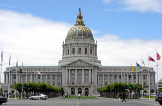 Image result for Official images of San Francisco City Hall